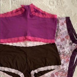 Maidenform size 8 XLarge 3 pairs of boycut panties